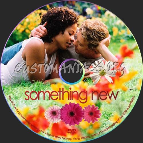 Something New dvd label