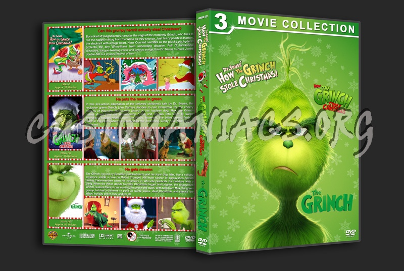 The Grinch Triple Feature dvd cover