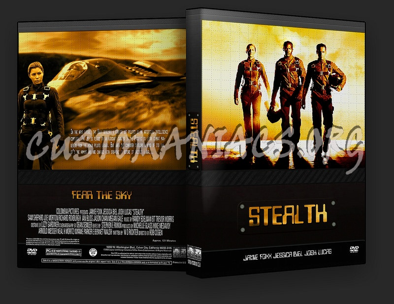 Stealth dvd cover - DVD Covers & Labels by Customaniacs ...
