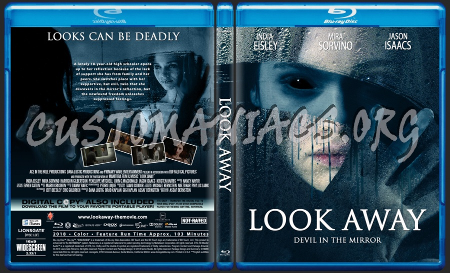 Look Away blu-ray cover