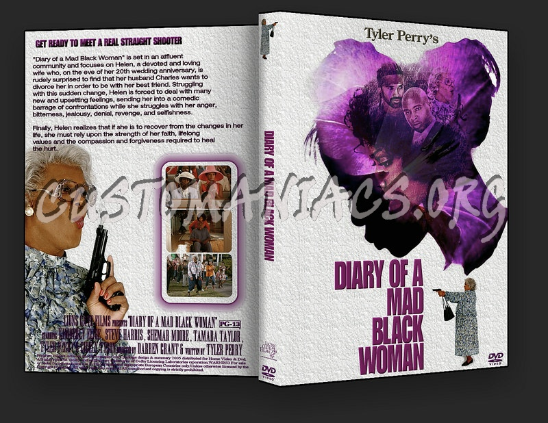 Diary Of A Mad Black Woman dvd cover