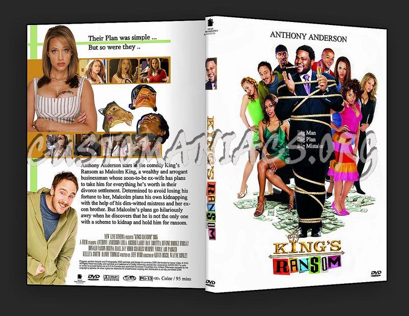 King's Ransom dvd cover
