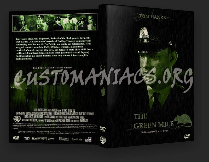 The Green Mile dvd cover
