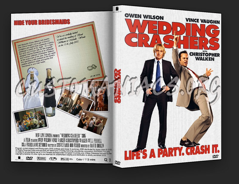 The Wedding Crashers dvd cover