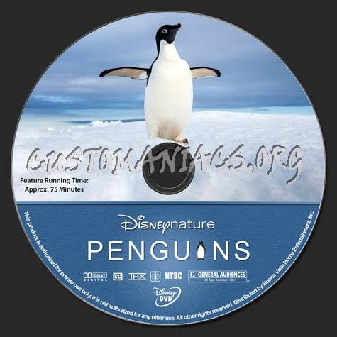 Penguins dvd label