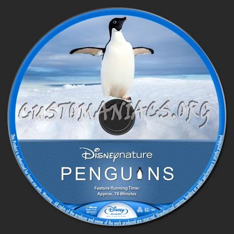 Penguins blu-ray label