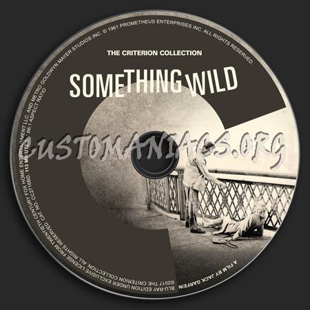 850 - Something Wild (1961) dvd label