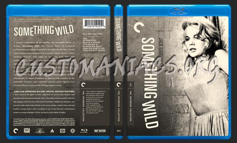 850 - Something Wild (1961) blu-ray cover
