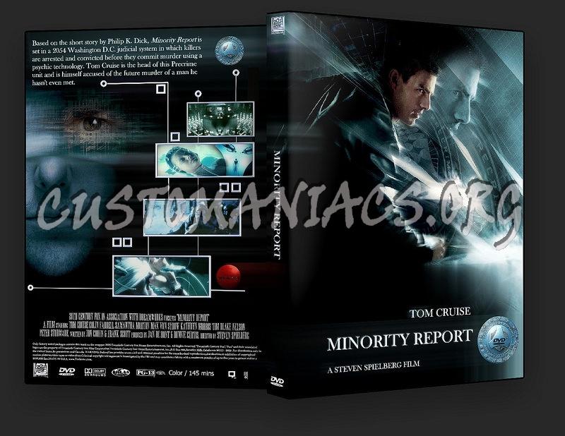 Minority Report dvd cover