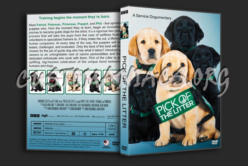 Pick of the Litter dvd cover