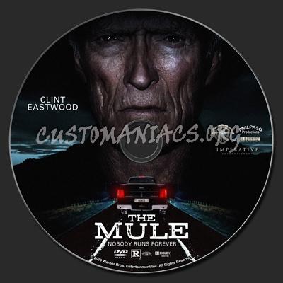 The Mule (2018) dvd label