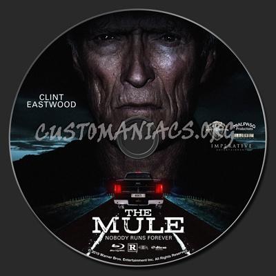 The Mule (2018) blu-ray label