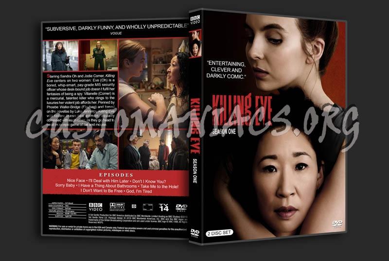 Killing Eve - Season 1 dvd cover