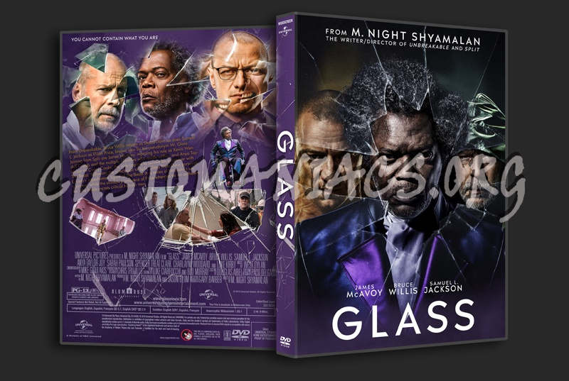 Glass dvd cover