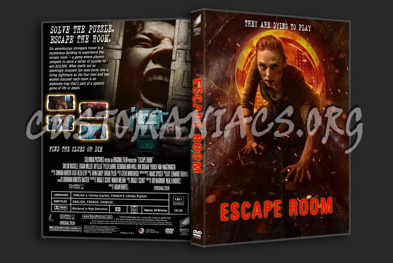 Escape Room 2019 dvd cover