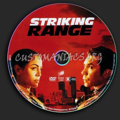 Striking Range dvd label