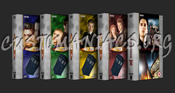 Doctor Who - Torchwood Collection dvd cover