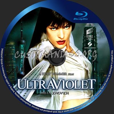 Ultraviolet blu-ray label