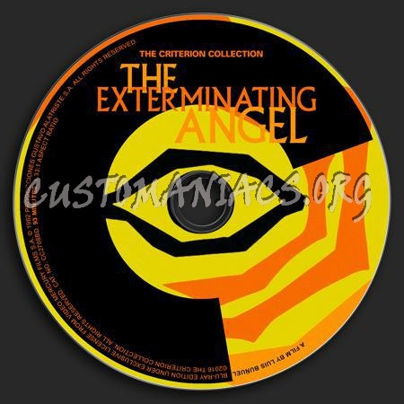 459 - The Exterminating Angel dvd label