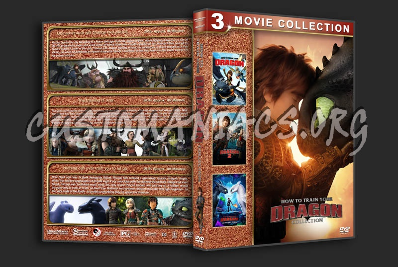 How to Train Your Dragon Collection dvd cover