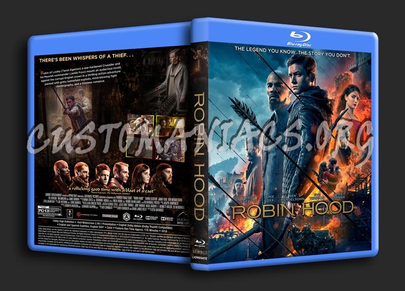 Robin Hood (2018) blu-ray cover