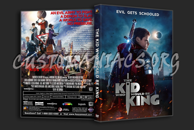 The Kid Who Would Be King dvd cover
