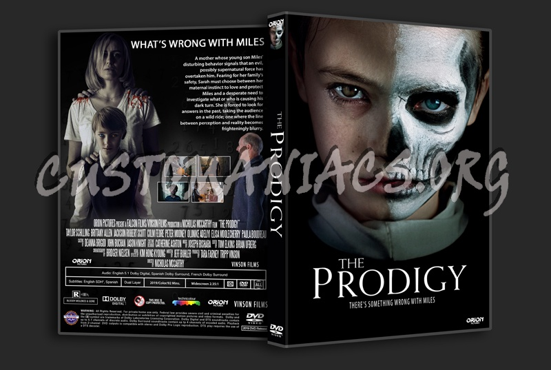 The Prodigy 2019 dvd cover