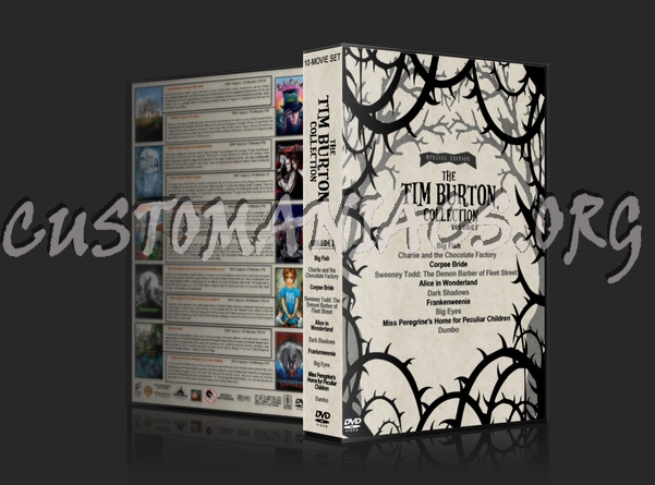 The Tim Burton Collection (10) - Volume 2 dvd cover