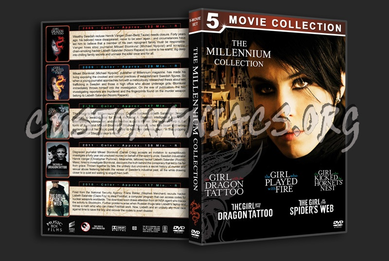 The Millennium Collection dvd cover