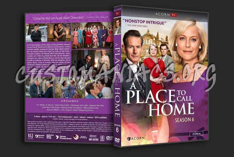 A Place to Call Home - Seasons 1-6 dvd cover