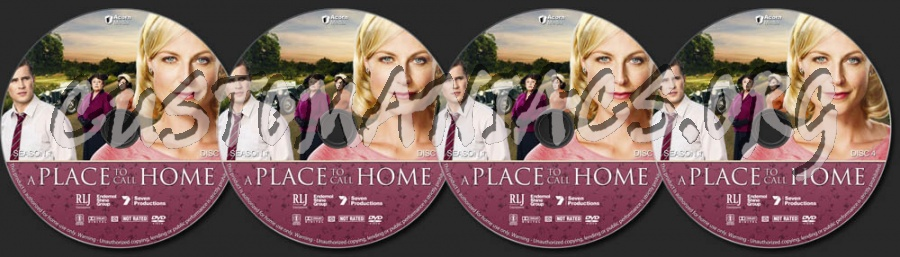 A Place to Call Home - Season 1 dvd label