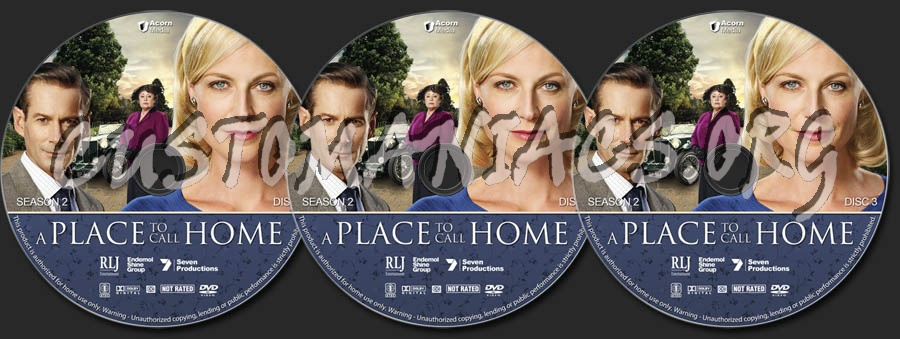 A Place to Call Home - Season 2 dvd label