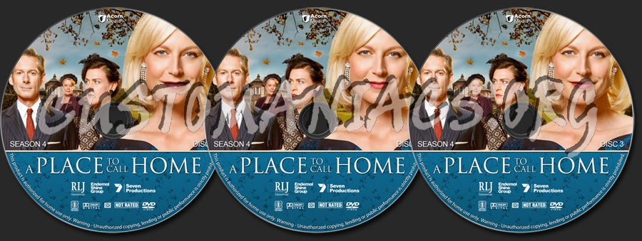 A Place to Call Home - Season 4 dvd label