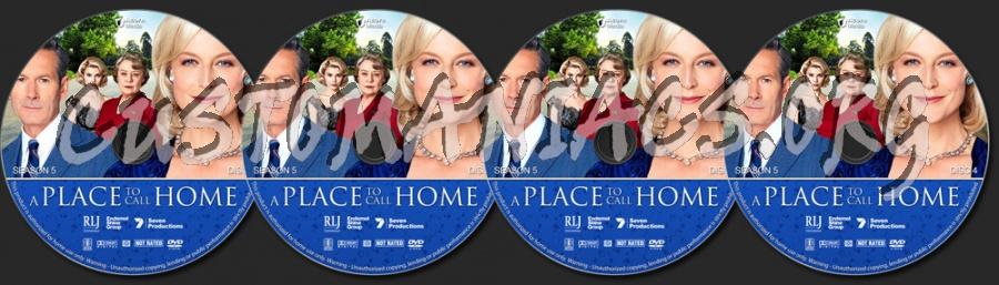 A Place to Call Home - Season 5 dvd label