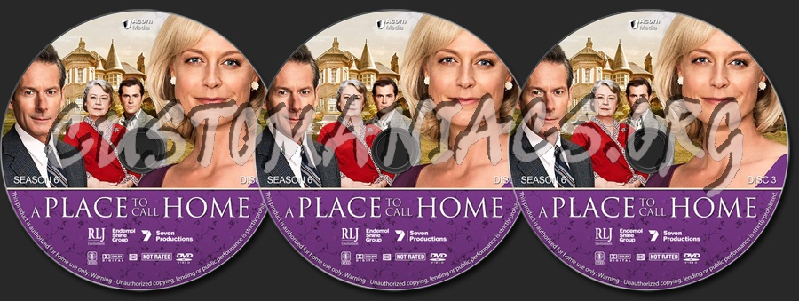 A Place to Call Home - Season 6 dvd label