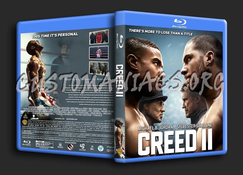 Creed II blu-ray cover
