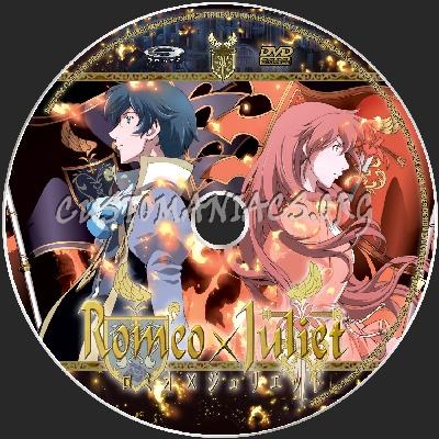 Romeo X Juliet dvd label