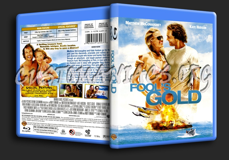 Fool's Gold blu-ray cover
