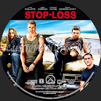 Stop-Loss dvd label