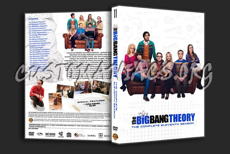 The Big Bang Theory Season 11 dvd cover