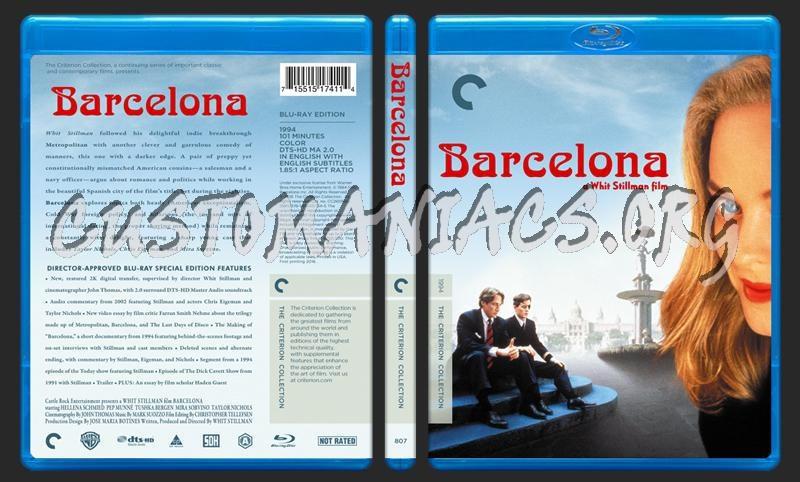 807 - Barcelona blu-ray cover