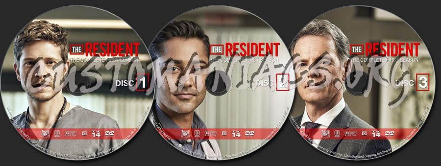 The Resident - Season 1 dvd label