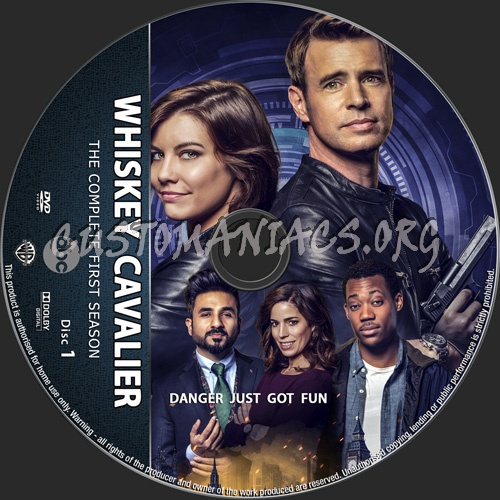 Whiskey Cavalier Season 1 dvd label