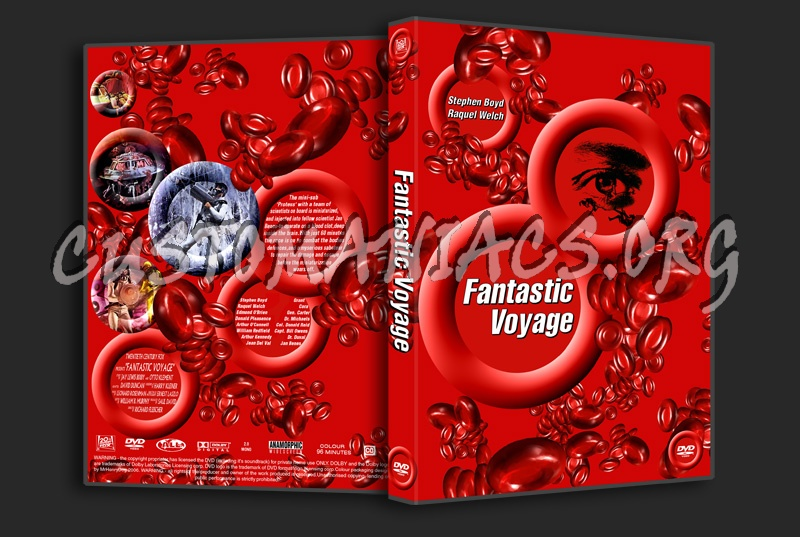 The Fantastic Voyage dvd cover