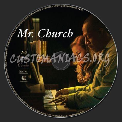 Mr Church blu-ray label