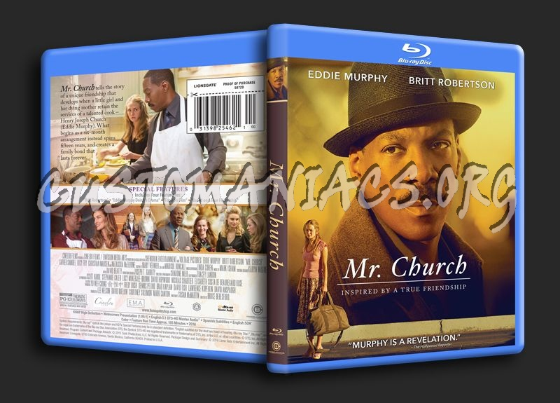 Mr Church blu-ray cover