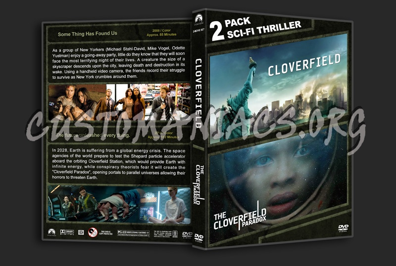 Cloverfield Double Feature dvd cover