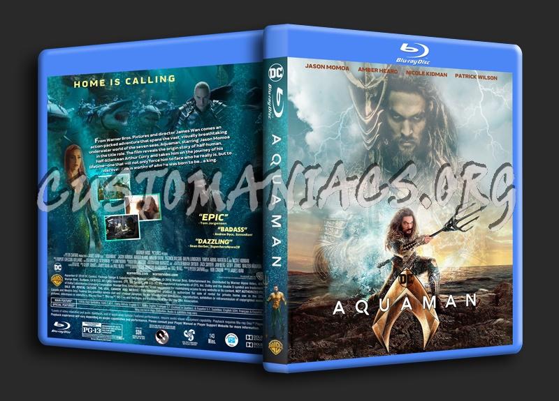 Aquaman (2018) blu-ray cover