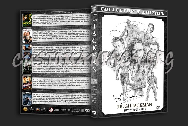 Hugh Jackman Filmography - Set 2 (2001-2006) dvd cover