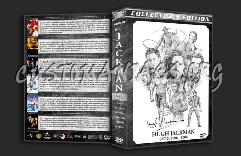 Hugh Jackman Filmography - Set 3 (2006-2008) dvd cover